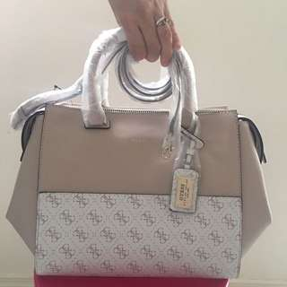 GUESS Hailey Bag - Nude