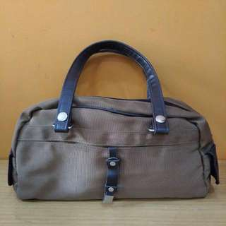 Military Brown Canvas Totebag