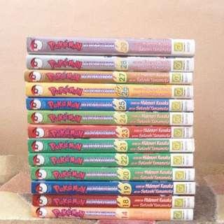 All Pokemon manga/comics; Vol. 14, 18-29