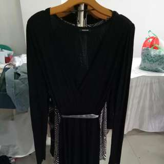 Dress Black Morgan Autenthic