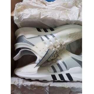 🚚 便宜售,Adidas Originals EQT Support ADV 米白 雪花白 BA7593 男女US9=26cm