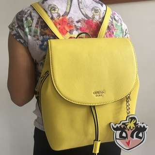 GUESS Back Pack - Yellow