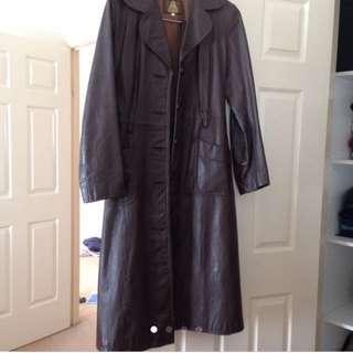 Genuine Vintage Leather Coat