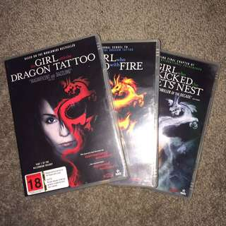 The Girl with the Dragon Tattoo DVD Collection