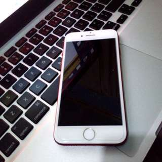 Iphone 7 Red 128GB (preloved)