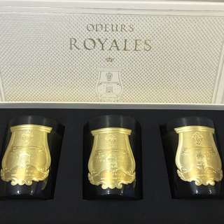 Cire Trudon Candles (Odeurs Royales)