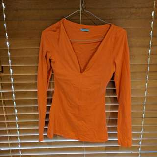 Kookai Size 1 Orange Top