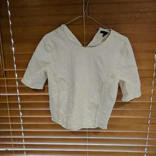 Banana republic White Crop To