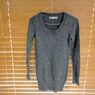 Tempt Jumper In Grey