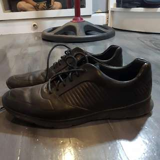 Clarks Leather Rugged Shoes