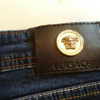 Versace Cut Off Shorts