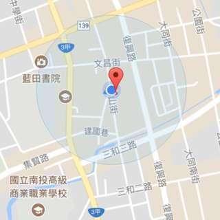出租-南投市城隍爺廟口店面(國王你好下方)