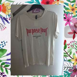 AUTHENTIC Purpose X Hnm Beige Tshirt