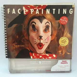 Face Painting book (dress-up/cosplay/costume/Halloween ideas)