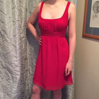 Guess Deep Red Party Dress