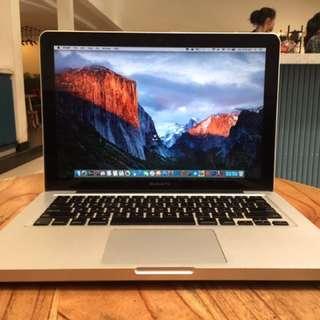 "Macbook Pro 13"" i7/Early 2011/4GB/500GB TERMURAH"