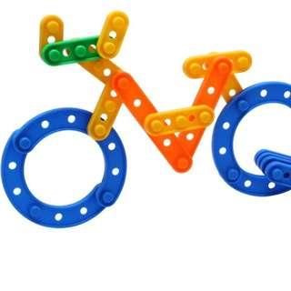 拼砌玩具 2歲以上岩玩 啪鈕款 智力玩具