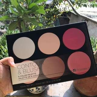 BH Cosmetics Contour And Blush Palette