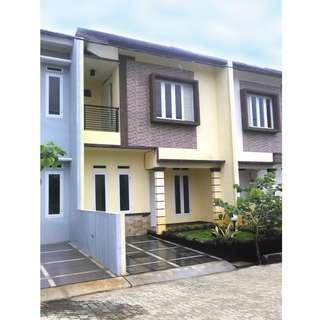 Rumah 2 lantai, harga murah, DP hanya 5 juta free pajak dan surat2