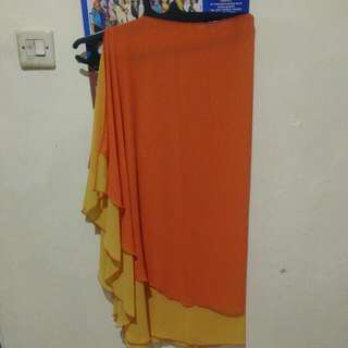 Khimar Orange Kuning