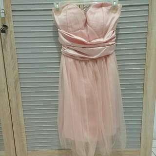 Tutu Dress Pink Size S-M