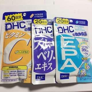 DHC 各種健康食品