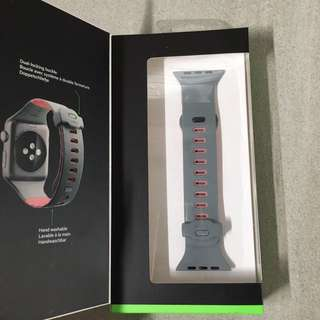Bekin Apple Watch Strap (Grey/Pink)