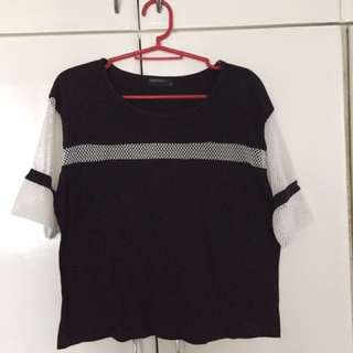 SM Woman Netted Top