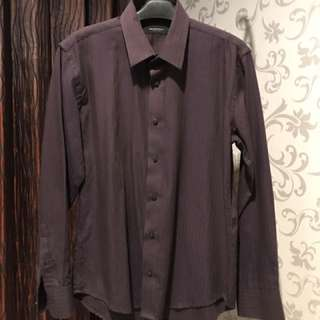 The Executive Dark Purple Shirt