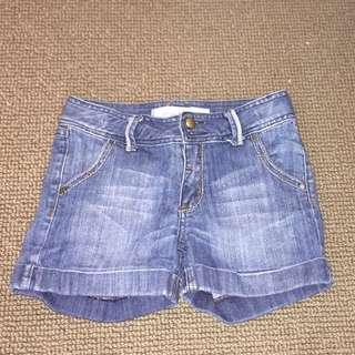 Girls Just Jeans Denim Shorts