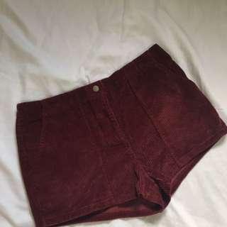 FOREVER 21: Kurduroy Shorts