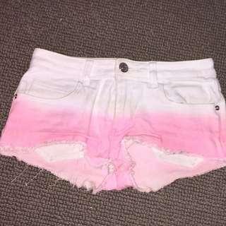 Supre Ombre Denim Shorts