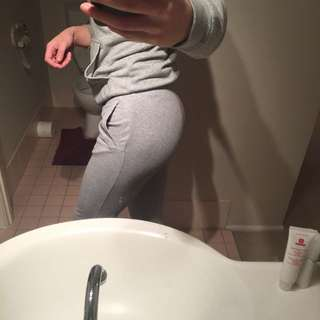 Women's xs Adidas Grey Trackpants