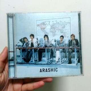 嵐ARASHI  ARASHIC 台壓專輯(CD+DVD)