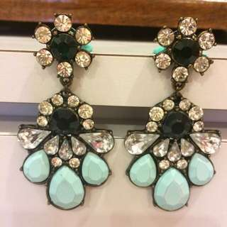 Brand New Statement Turquoise Earrings