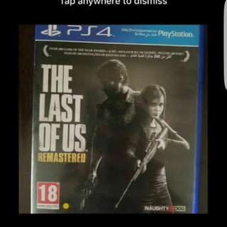 ps4 last of us gta 5 etc