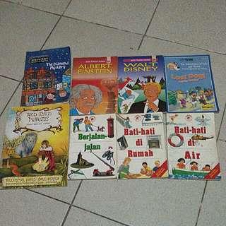Buku Anak Children's Book 8k/buah