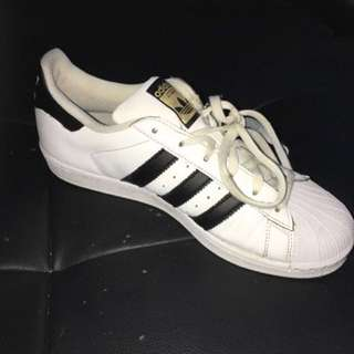 Adidas Superstars Size 8.5