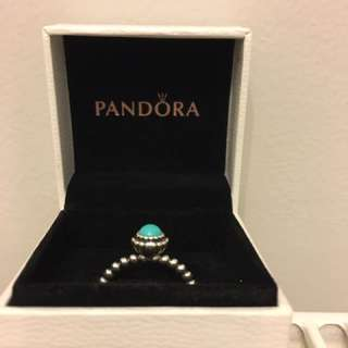Size 56 Birthstone Ring - Authentic PANDORA