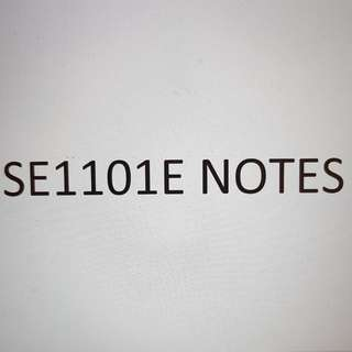 SE1101E Southeast Asia: A Changing Region Notes