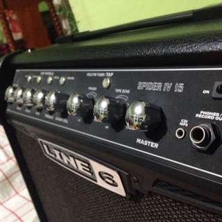 LINE6 Guitar Amplifier Built In Effects CHORUS,PHASER,TREMOLO,REVERB,ECHO