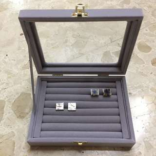 Brand New Cufflink And Accessories Box