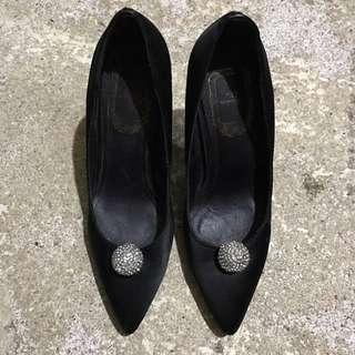 Christian Dior Black High-heeled Shoes