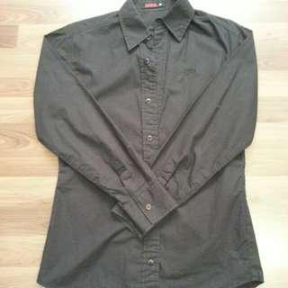 EDWIN 黑襯衫