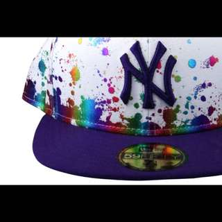 New Era NY Splatter