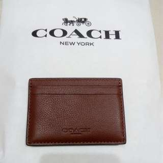 [New] Coach Cards Holder