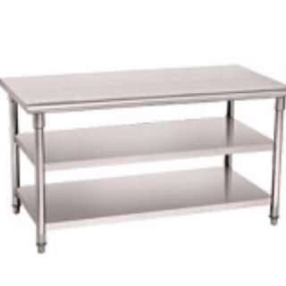 3 Tier Solid Stainless Rack