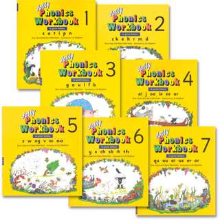 Jolly Phonics - Workbook [Book 1 - 7 Available] (Print edition)