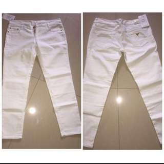 Jeans Prada Putih