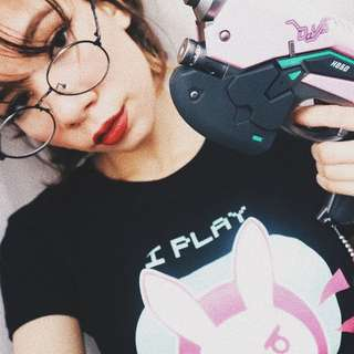 "DVA Graphic Shirt (PO) "" I Play To Win"""